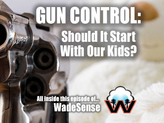 WadeSEnse: GUN CONTROL Should It Start with Our Kids?