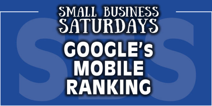 Google's Mobile Ranking