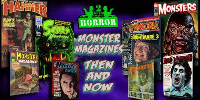 2GuysTalkingHorror: Magazines - from a Horrific Perspective - Then and Now!