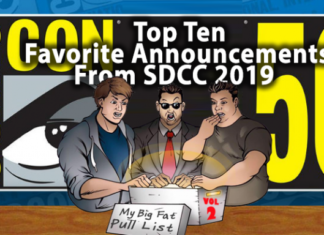 Announcements from The 2019 Comic Con!