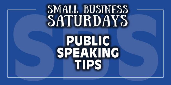 Small Business Saturdays: Public Speaking Tips