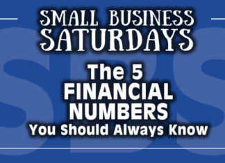 Small Business Saturdays: The 5 Financial Numbers You Should Always Know