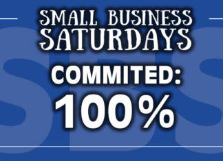 Small Business Saturdays: Commited: 100%