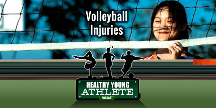 The Healthy Young Athlete Podcast: Volleyball Injuries