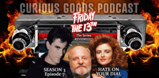 """Curious Goods Podcast: Our Review of Season 3, Episode 7, """"Hate On Your Dial..."""""""