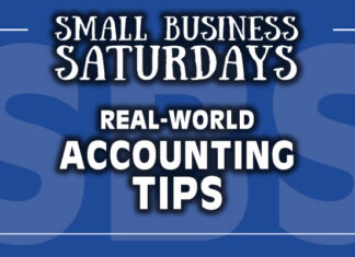 Small Business Saturdays: Real World Accounting Tips